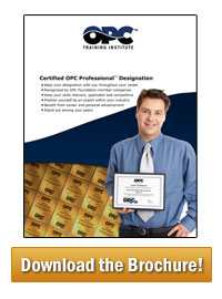 Certified OPC Professional Brochure